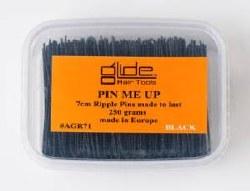 PMU Ripple Pins Black 7cm (D)