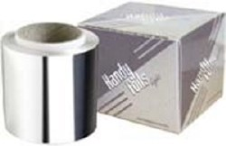 H Foils Lt Grd Silver 12cmx300