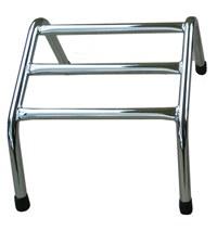 Joiken Footrests 3 Bar Chrome