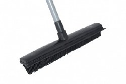 Salon Broom With Dustpan
