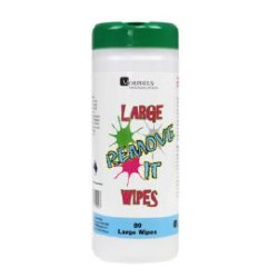 Large Remove It Wipes 80pk