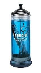 "Barbacide Steraliz Jar 12"" (D)"