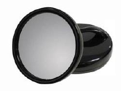 Salon Concept Round Mirror Blk