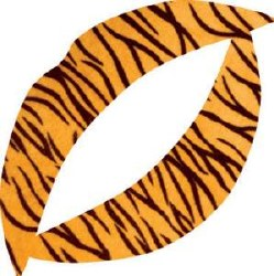 Vixen Lip Tattoo Tiger (D)