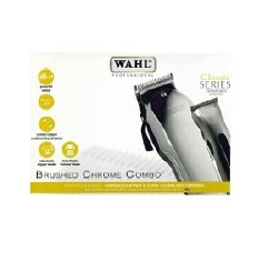 Wahl Brushed Chrome Combo (P)