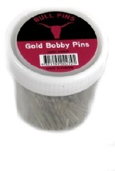 Bull Pins Bobby Pins Gold 250g