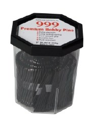 "Date Bobby Pins 999 2"" Black"