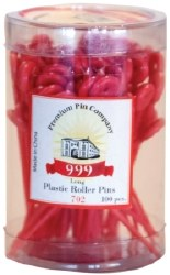 999 Long Red Plastic Roller Pi