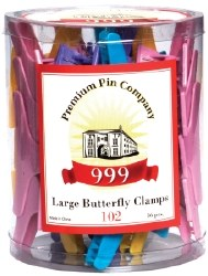 Butterfly Clamps Lg Tub 36p (D
