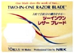 Nicky 2 in 1 Razor Blade 10pk