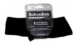 Schoolies Headband Wick Black
