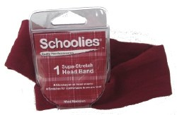 Schoolies Headband Mad Maroon