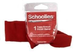 Schoolies Headband Rad Red