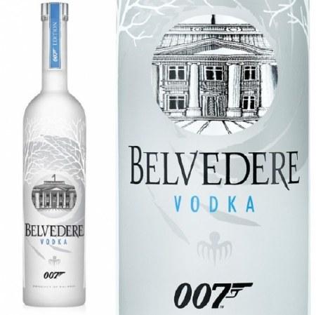 Belvedere, Imported Polish Vodka, Limited 007 Bottling, 1.75L