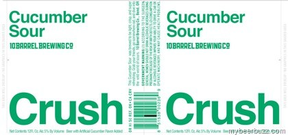 10 Barrel Brewing Co., Crush, Cucumber Sour, Bend OR