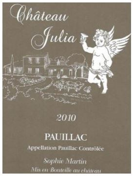 2010 Chateau Julia, AOC Pauillac, Bordeaux Red Wine
