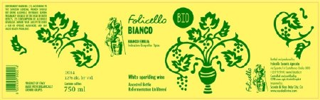 2014 Folicello Societa Agricola, IGT Bianco Emilia, Italy