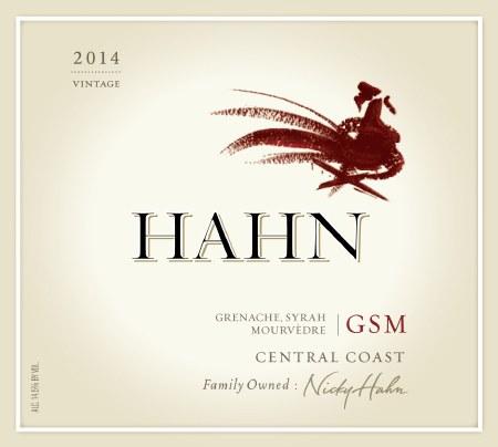 2014 Hahn, GSM, Central Coast, CA