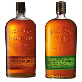 Bulleit, Frontier Whiskey, kentucky Straight Bourbon Whiskey, 1.75L