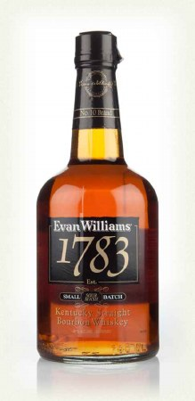 Evan Williams, 1783, Small Batch Kentucky Straight Bourbon Whiskey, Bardstown, KY