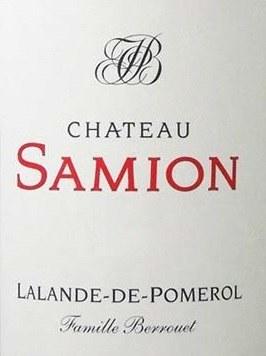 2013 Chateau Samion, AOC Lalande-de-Pomerol, Bordeaux, France