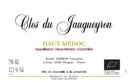 2014 Clos du Jaugueyron, AOC Haut-Medoc, Bordeaux Red Wine