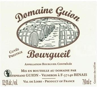 2014 Domaine Guion, Cuvee Prestige, AOC Bourgueil, Loire Valley, France