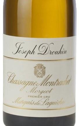 """2014 Joseph Drouhin, AOC Chassagne-Montrachet Premier Cru, """"Morgeot- Marquis Laguiche,"""" Burgundy, France"""
