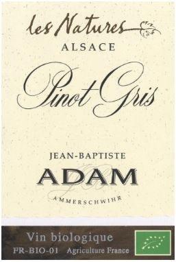 """2012 Jean-Baptiste Adam, Pinot Gris, """"Les Natures,"""" AOC Alsace"""