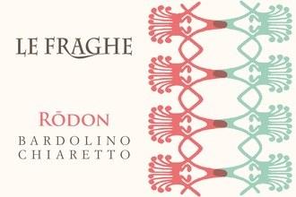 """2015 Le Fraghe, """"Rodon,"""" DOC Bardolino Chiaretto, Italy"""