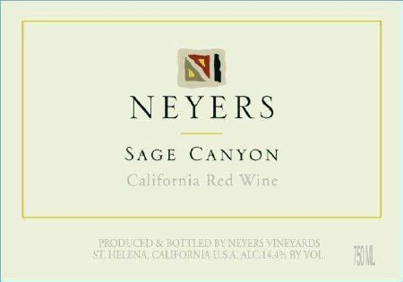 2014 Neyers, Sage Canyon, Rhone Style Red Blend