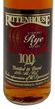 Rittenhouse, Straight Rye Whiskey