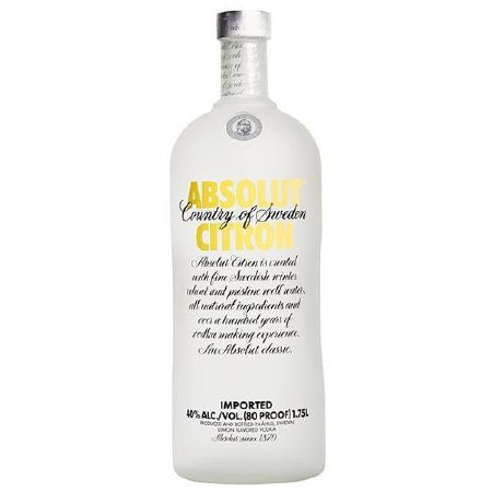 ABSOLUT CITRON 1.75