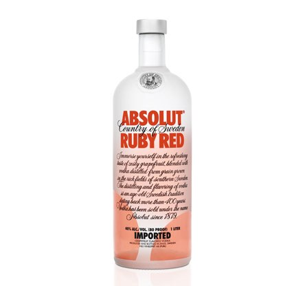 ABSOLUT RUBY RED     750