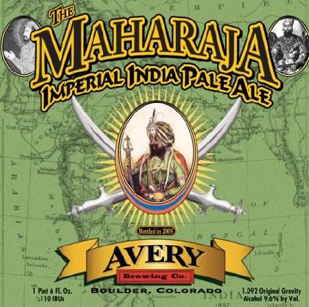 AVERY MAHARAJA IPA 22OZ