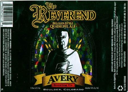 AVERY REVEREND 22OZ