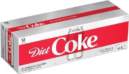 COKE DT CAN     12PK 12Z
