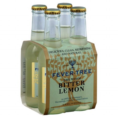 FEVER-TREE  LEMON TONIC 4PK