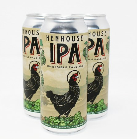 HENHOUSE IPA 16Z CAN