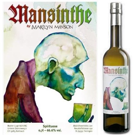 MANSINTHE  ABSINTHE   750