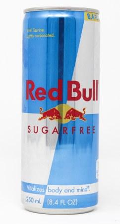 RED BULL SGR FREE  8.4oz