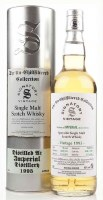 1995 Signatory Vintage, The Un-Chillfiltered Collection, Single Malt Scotch Whisky Distilled at Imperial Distillery