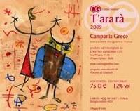 "2014 Cantina Giardino, ""T'ara'ra,"" IGT Campania Greco"