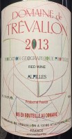 2013 Domaine de Trevallon, IGP Alpilles Red Wine, France