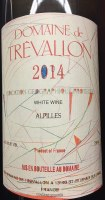 2014 Domaine de Trevallon, IGP Alpilles White Wine, France