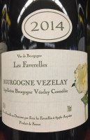 2014 Scea Les Faverelles, AOC Bourgogne Vezelay, France