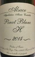 2015 Gerard Schueller, Pinot Blanc, AOC Alsace