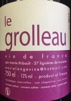 2015 Marie Thibault, le Grolleau, Vin de France
