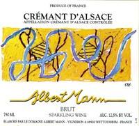 NV Albert Mann, Cremant D'Alsace, Brut, Sparkling Wine
