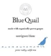 2014 Blue Quail, Sauvignon Blanc, Potter Valley, Mendocino County, CA